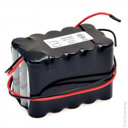 Batteria ricaricabile Ni-Cd 18V 700mAh ARTS 15VRE AA per porte Automatiche BESAM