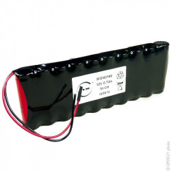 Batteria Ricaricabile 12V 700mAh Ni-Cd ARTS per Porte Automatiche MICOM ALL
