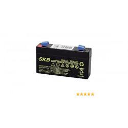 SK6-1,3 6V 1,3Ah SKB Batteria Ricaricabile al Piombo