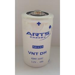 Batteria ricaricabile SAFT/ARTS VNT D NI-CD 1,2V 4000mAh Alta Temperatura